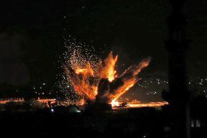 Israel công bố video tấn công hàng chục mục tiêu Dải Gaza