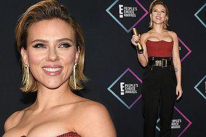Sắc vóc rực lửa của mỹ nhân gợi tình Scarlett Johansson