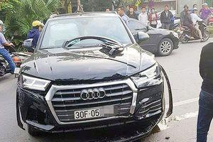 Lái xe Audi Q5 gây tai nạn liên hoàn do gạt nhầm số?