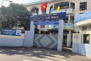 Một giáo viên Trường tiểu học Nguyễn Bá Ngọc bất ngờ bị cắt lớp giảng dạy