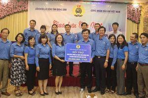 Công đoàn Dầu khí Việt Nam ký kết phối hợp hoạt động với LĐLĐ Quảng Bình
