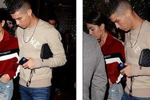 Ronaldo cùng bạn gái đại náo London, đi xem Djokovic