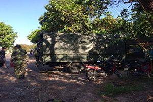 Gặp nạn trên đường huấn luyện, 2 quân nhân tử vong