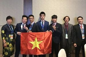Việt Nam giành giải cao cuộc thi Olympic Thiên văn và Vật lý Thiên văn quốc tế
