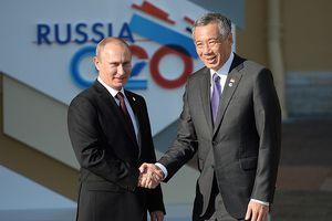 Tổng thống Nga Putin lần đầu tiên tới Singapore