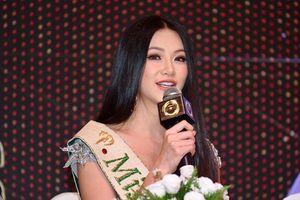 Hoa hậu Phương Khánh tiết lộ lý do vì sao không được mang vương miện về Việt Nam