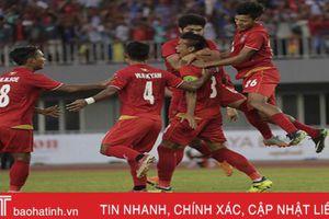 Thắng đậm Campuchia, Myanmar hét lớn muốn vào chung kết