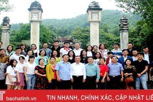 Đoàn Famtrip Bắc - Trung - Nam tham quan, khảo sát du lịch Hà Tĩnh