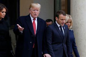 Vừa từ Pháp về, Tổng thống Trump 'quay lưng' với các lãnh đạo châu Âu