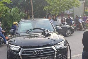 Đã tìm ra danh tính chủ nhân xe Audi Q5 gây tai nạn liên hoàn ở Hà Nội