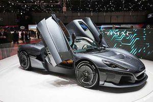Chiêm ngưỡng siêu xe điện hypercar Rimac C_Two