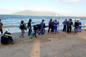 Đà Nẵng: Loại trừ ô nhiễm gây cá chết dạt vào bờ biển Nguyễn Tất Thành