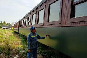 Thợ Việt chế tác các đoàn tàu 'Made in Vietnam'