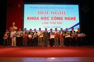 Đại học GTVT đầu tư phòng thí nghiệm trọng điểm nghiên cứu KHCN