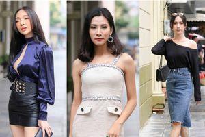 Thí sinh The Tiffany Việt Nam khoe dáng với váy áo cắt xẻ táo bạo khoe 3 vòng thu hút