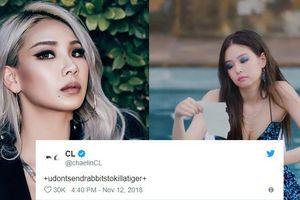 Bị tag tên vào bài đăng sản phẩm mới của Jennie, CL đá xéo YG: 'Đừng lấy mấy con thỏ để giết chết một con hổ'