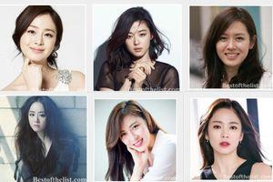 Bình chọn 39 nữ diễn viên đẹp nhất Hàn Quốc 2018, bạn đã rung động trước nhan sắc của ai?