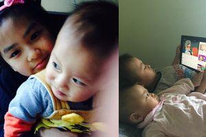 Mẹ bé Nhật Linh: 'Cuộc sống đảo lộn nhưng chúng tôi cố cân bằng vì các con'