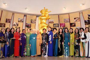 'Mong các cô, các dì tiếp tục là điểm tựa tinh thần vững chắc cho tổ chức Hội'