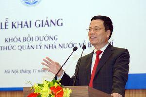 Báo chí cần tạo nên khát vọng về một Việt Nam hùng cường