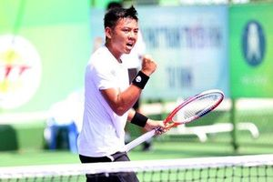 Lý Hoàng Nam tiếp tục bay cao trên bảng xếp hạng ATP