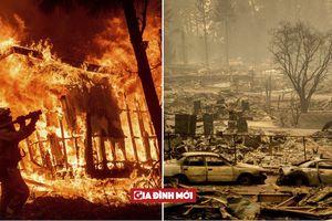 Cháy rừng thảm khốc nhất lịch sử California: 3 vụ cháy đồng loạt, ít nhất 44 người chết