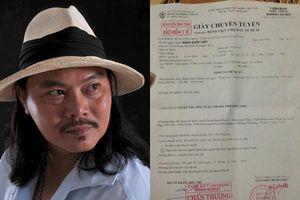 Lan truyền đơn cầu cứu của đạo diễn Đặng Quốc Việt