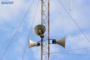 Cần chú trọng hệ thống truyền thanh cơ sở để cảnh báo mưa lũ