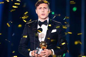 'Sao xịt' M.U đoạt giải cầu thủ xuất sắc nhất Thụy Điển năm 2018