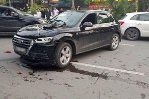 Xác định danh tính lái xe Audi Q5 gây tai nạn liên hoàn ở Hà Nội