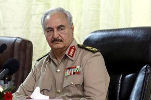 Tướng Lybia Khalifa Haftar tuyên bố 'sốc' tại Palermo