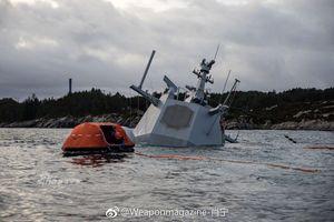 Tai nạn khiến khu trục hạm Aegis Na Uy chìm do bị gây nhiễu liên lạc?