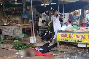Khẩn trương điều tra vụ một phụ nữ bị bắn tử vong ở chợ