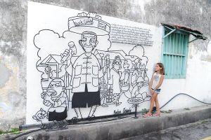 Nghệ thuật đường phố ở Malaysia