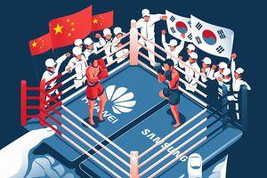 Huawei đấu Samsung - cuộc chiến vương quyền mới của ngành di động