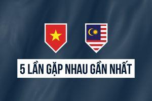 Video 5 lần đối đầu gần nhất giữa Việt Nam và Malaysia tại AFF Cup