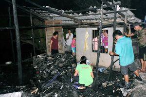 Bé gái thiệt mạng trong căn nhà cháy ở Cà Mau