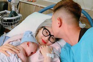 Em gái Quang Vinh khoe ảnh hạnh phúc bên chồng và con gái đầu lòng