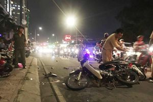 Tài xế gây tai nạn liên hoàn ở quận 7 khai đạp nhầm chân ga