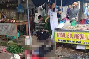 Nghi phạm bắn người phụ nữ bán đậu giữa chợ yêu đơn phương nạn nhân