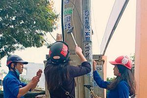 Đà Nẵng: Tràn lan 'rác' quảng cáo rao vặt