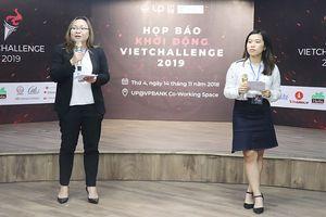 Khởi động cuộc thi khởi nghiệp toàn cầu VietChallenge 2019