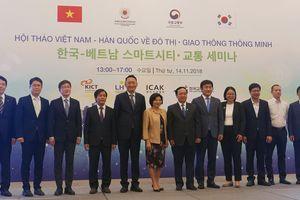Hàn Quốc - đối tác tin cậy của Việt Nam trong xây dựng đô thị thông minh