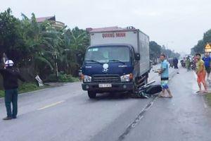 Nam sinh trường y tử vong sau cú va chạm với xe tải