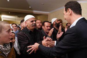 Giải phóng khỏi IS: Dân Syria hô vang 'người hùng' Assad