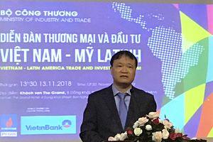 Thúc đẩy kim ngạch thương mại Việt Nam-Mỹ Latinh đạt 18 tỷ USD