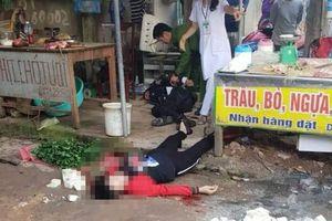 Nóng: Người phụ nữ bị bắn chết khi bán hàng ở Hải Dương