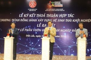 Đác Lắc ký thỏa thuận hợp tác với Quỹ Khởi nghiệp doanh nghiệp Khoa học và Công nghệ Việt Nam
