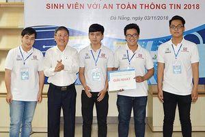 Duy Tân vô địch cuộc thi 'Sinh viên với An toàn Thông tin 2018' khu vực miền Trung