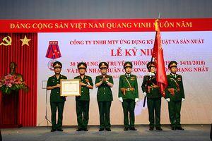 Công ty Tecapro đón nhận Huân chương Lao động hạng Nhất